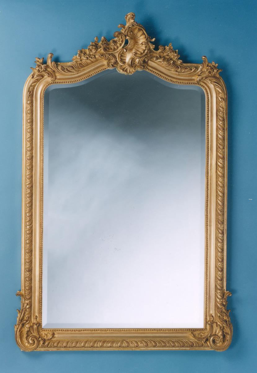 Victorian Acanthus Mirror