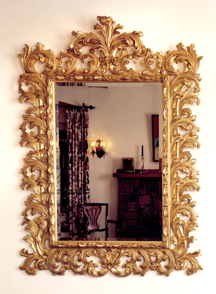 Vintage Convex Mirror by Atsonea - Antique Mirrors