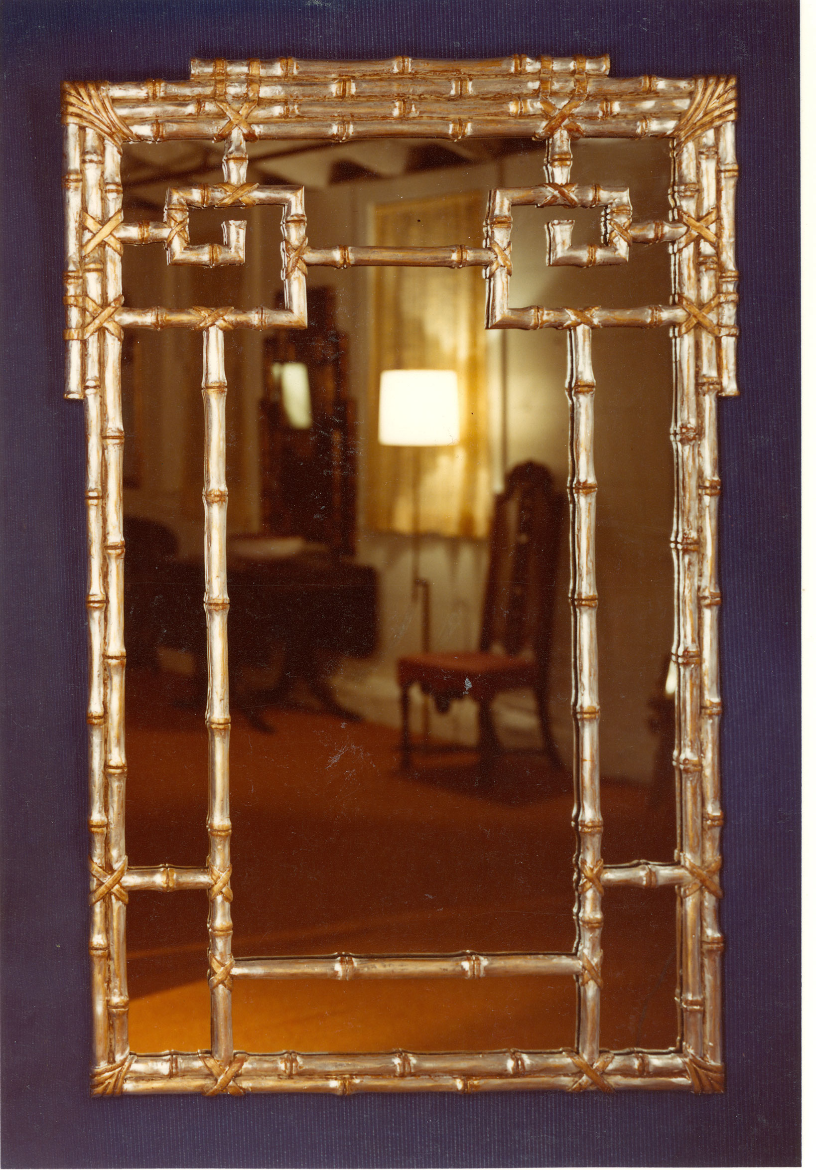 gold bamboo mirror. Click Tap To Enlarge Gold Bamboo Mirror A