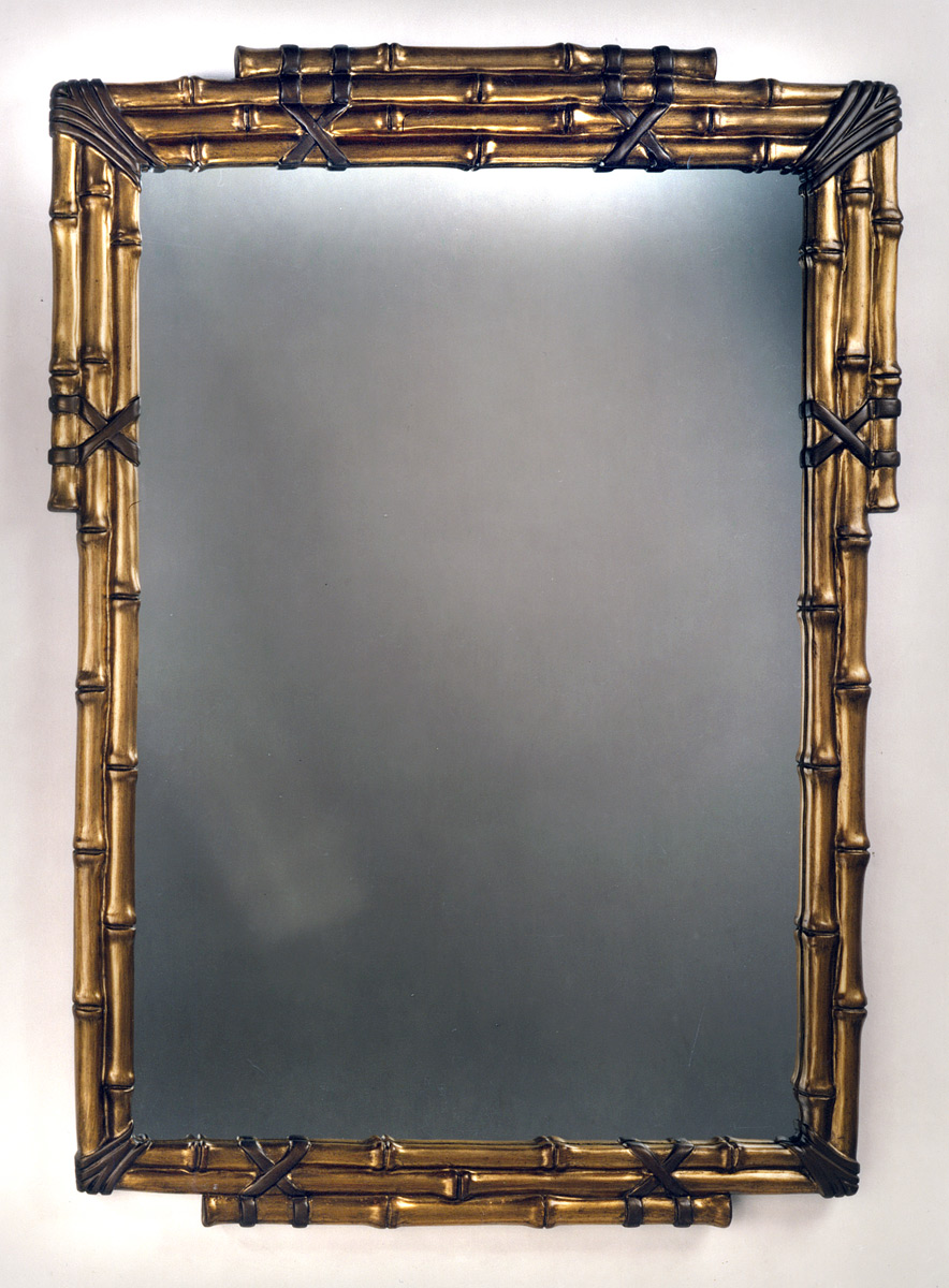 click tap to enlarge - Bamboo Mirror