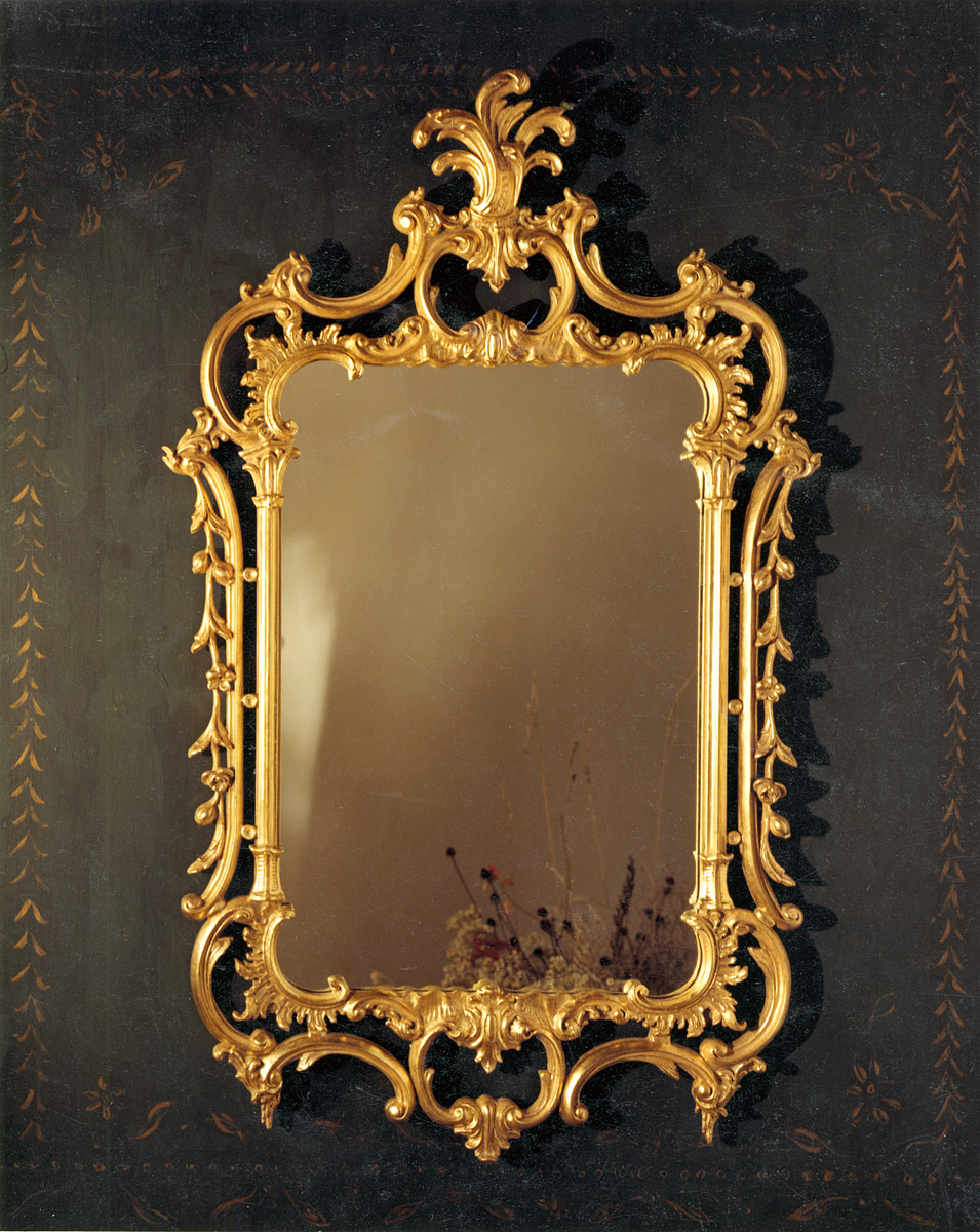Acanthus Leaf Chippendale Mirror Carvers Guild